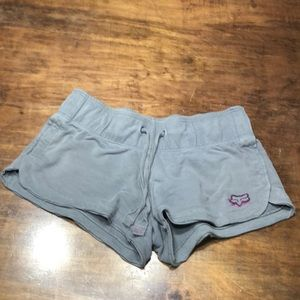 Grey cotton (little spandex) shorts